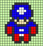 Alpha pattern #37413