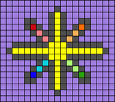 Alpha pattern #37440