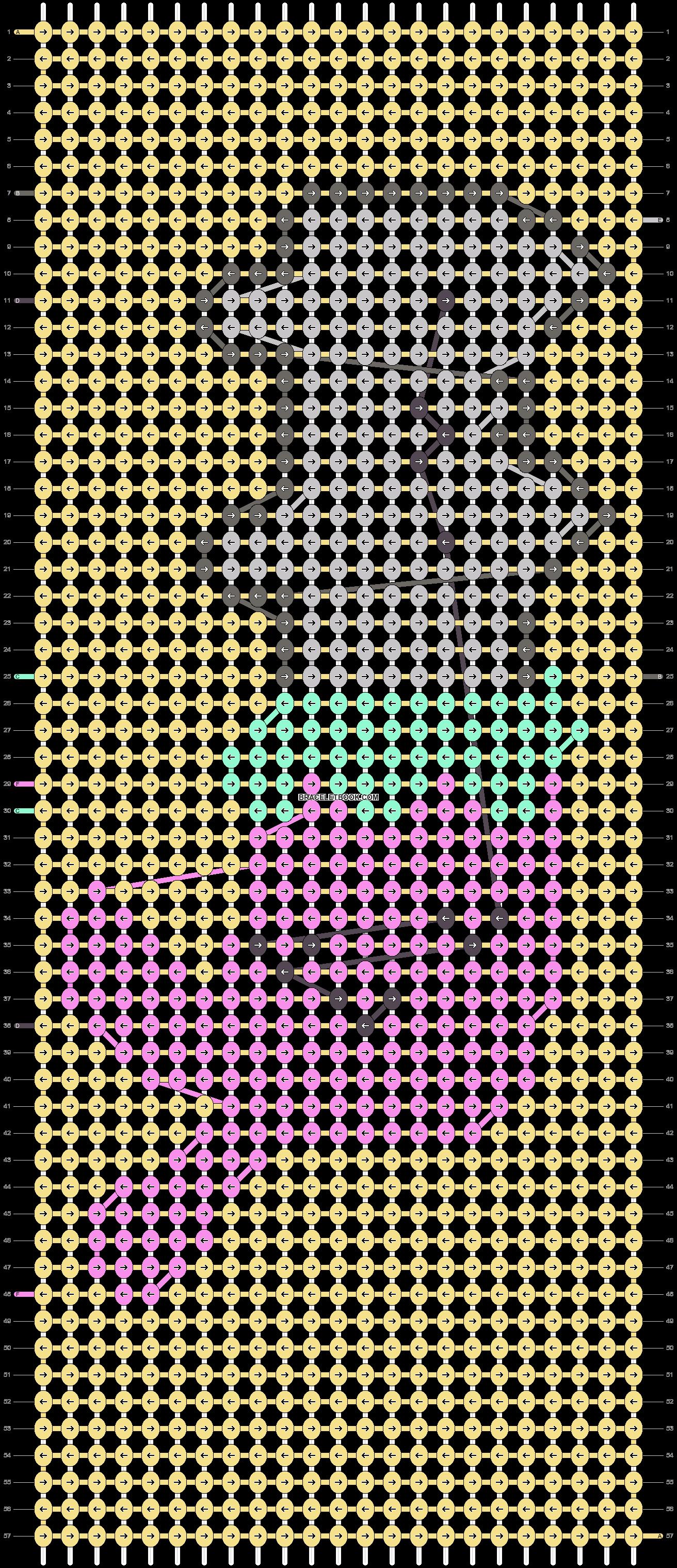 Alpha pattern #37449 pattern