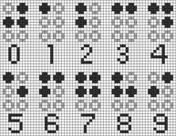 Alpha pattern #37454