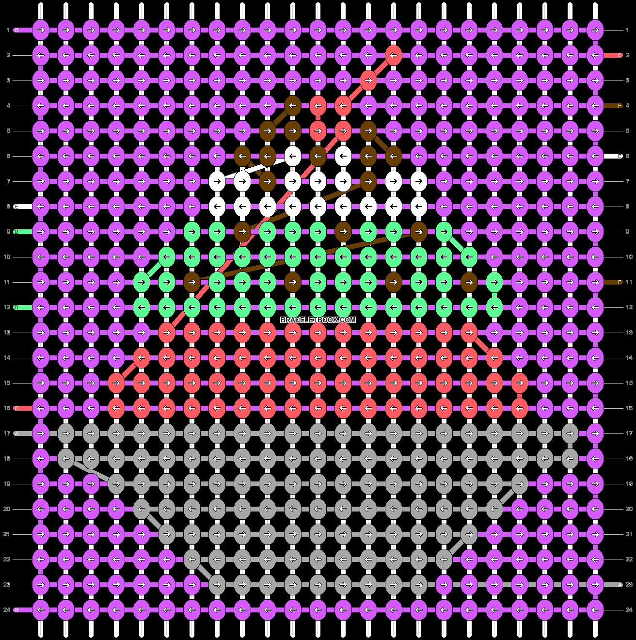 Alpha pattern #37459 pattern