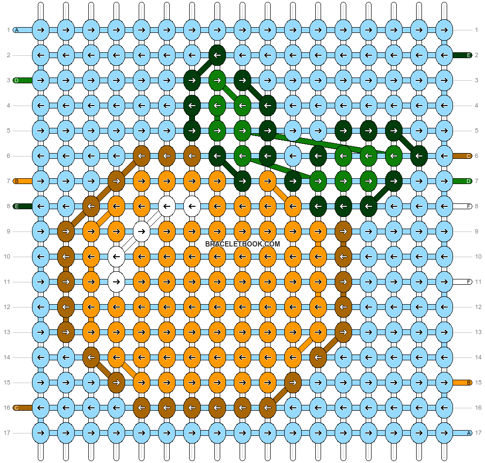 Alpha pattern #37461 pattern