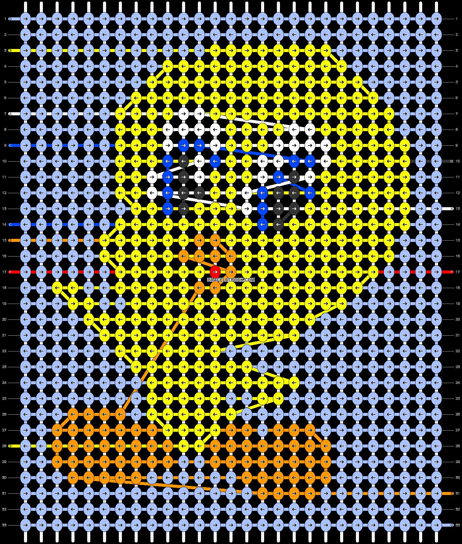 Alpha pattern #37490 pattern