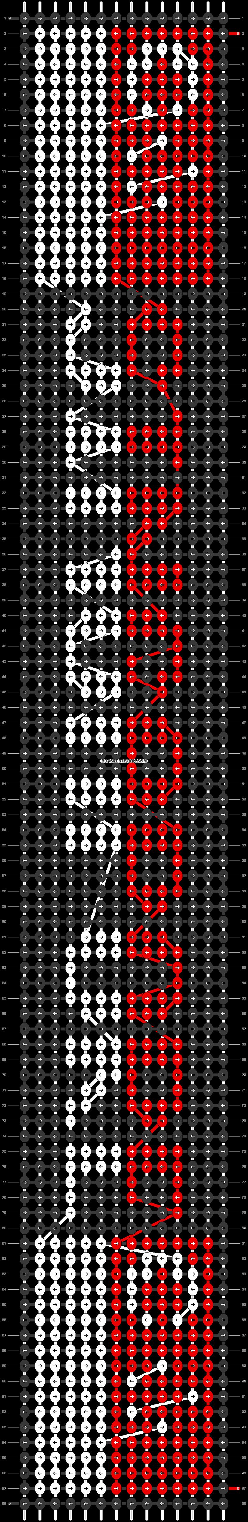 Alpha pattern #37501 pattern
