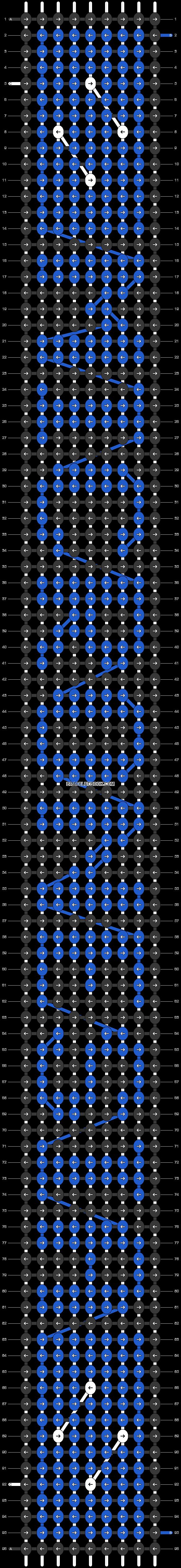 Alpha pattern #37502 pattern