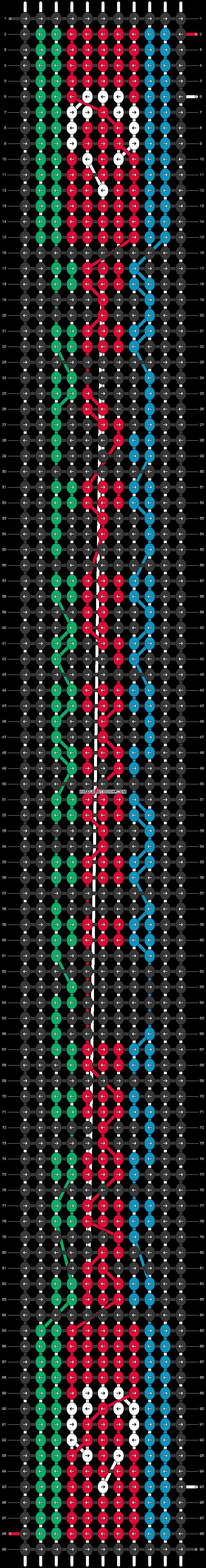 Alpha pattern #37505 pattern