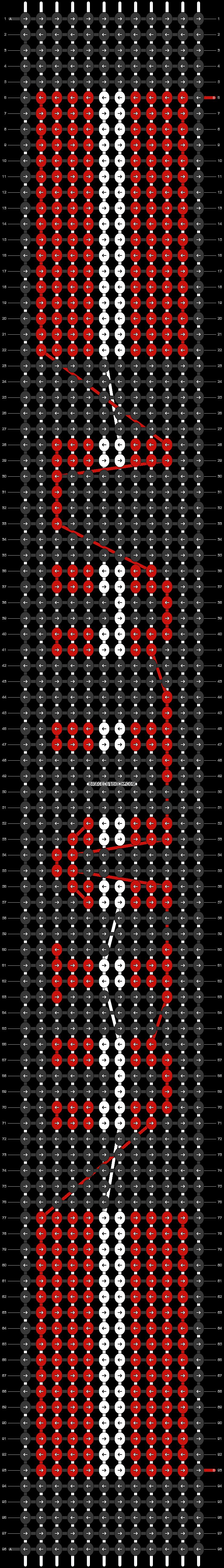 Alpha pattern #37509 pattern