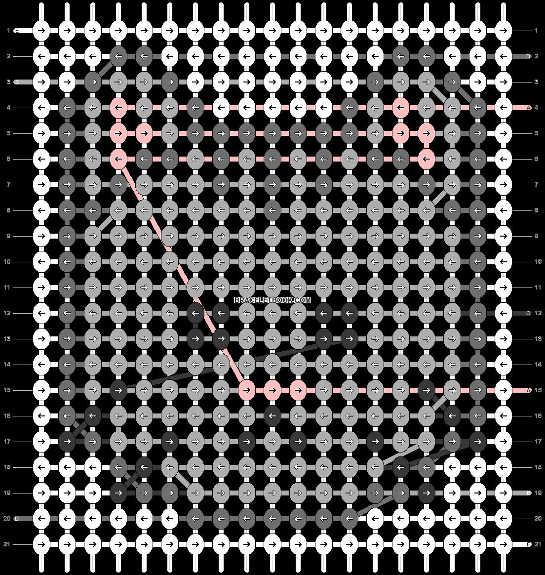 Alpha pattern #37515 pattern