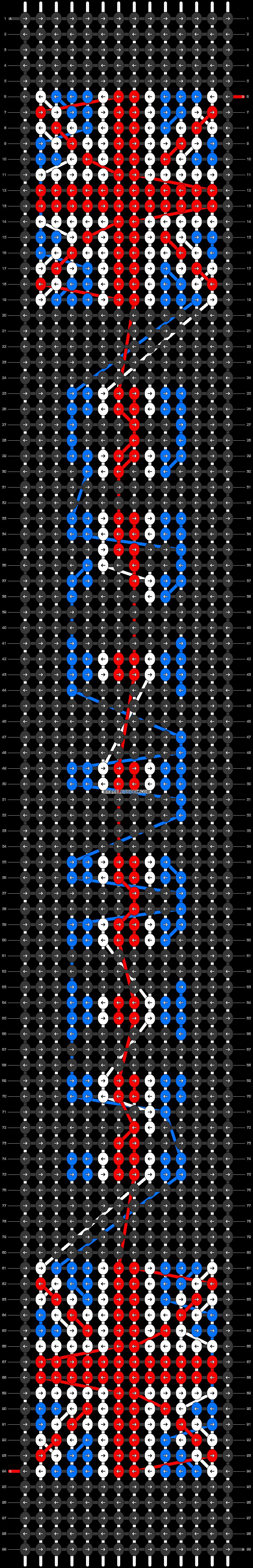 Alpha pattern #37519 pattern
