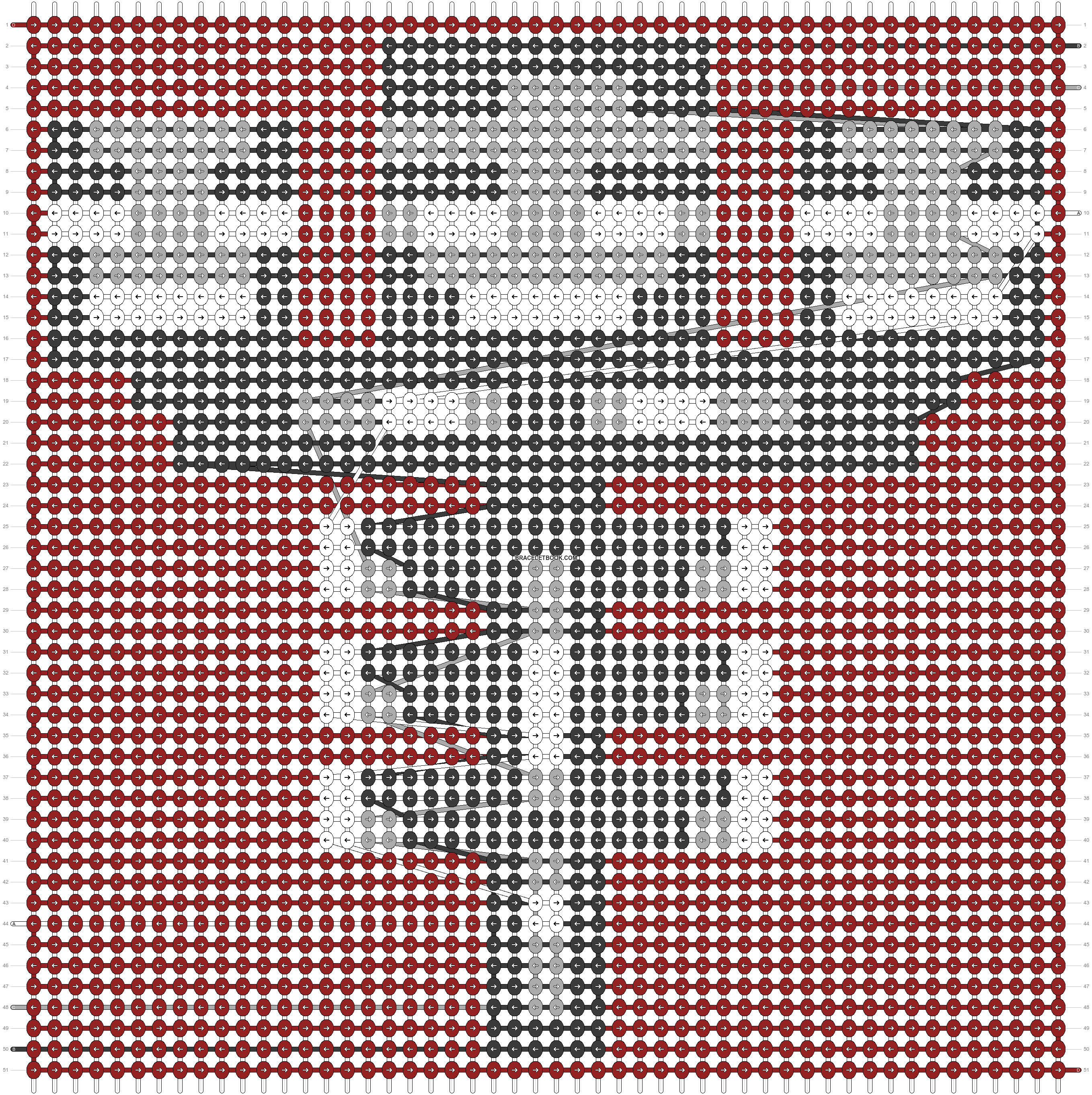 Alpha pattern #37526 pattern