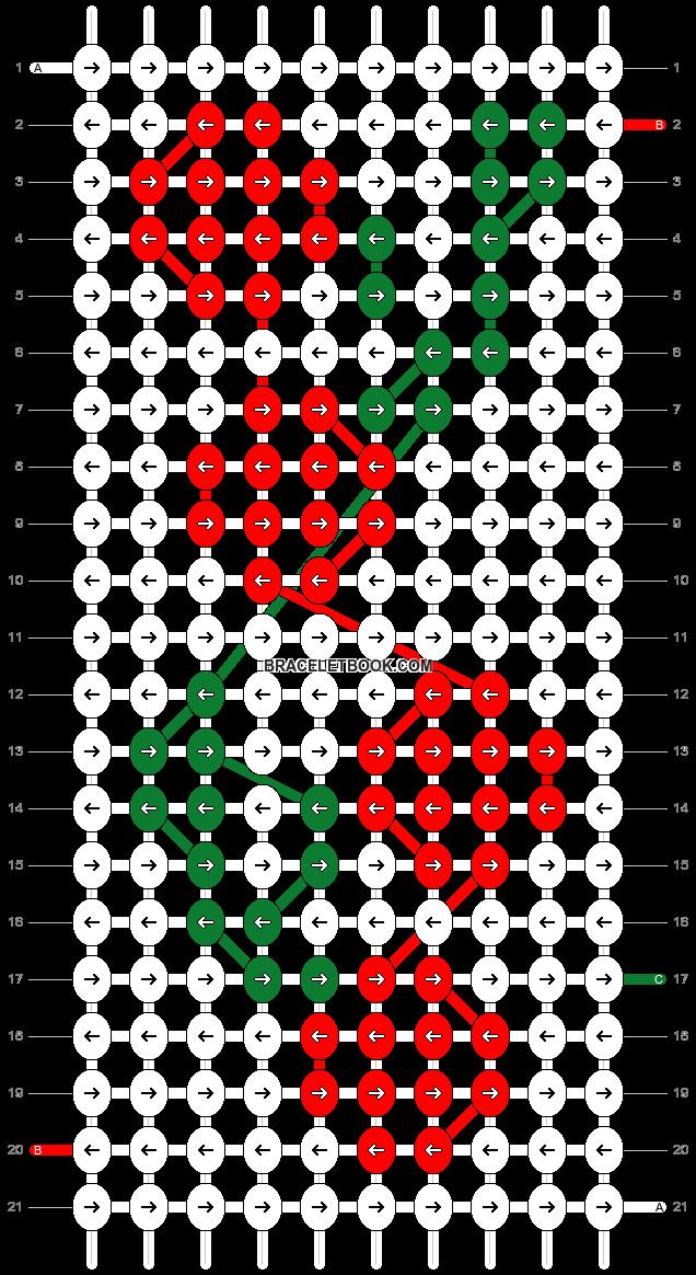 Alpha pattern #37541 pattern