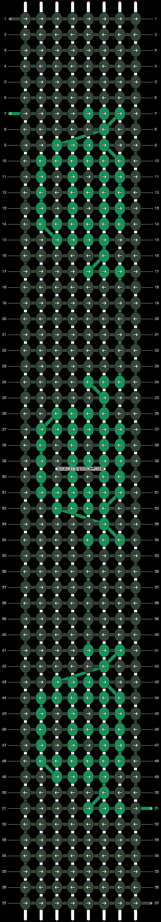 Alpha pattern #37633 pattern