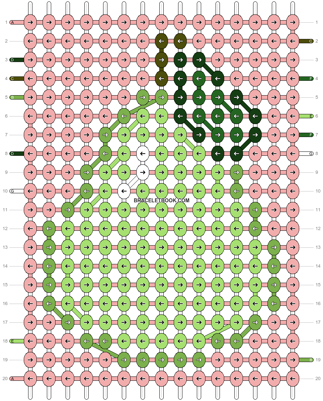 Alpha pattern #37658 pattern