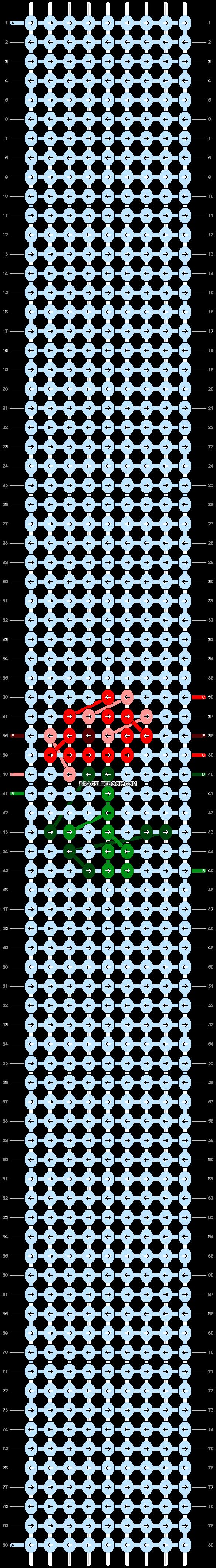 Alpha pattern #37663 pattern