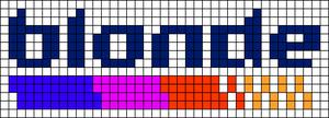 Alpha pattern #37692
