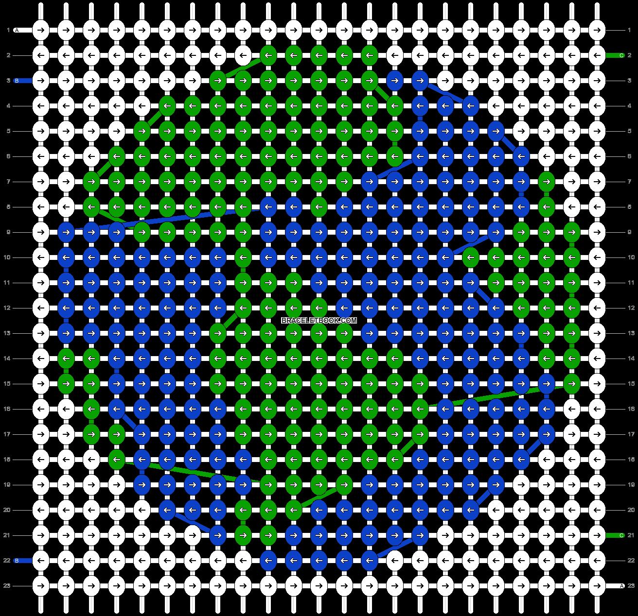 Alpha pattern #37739 pattern