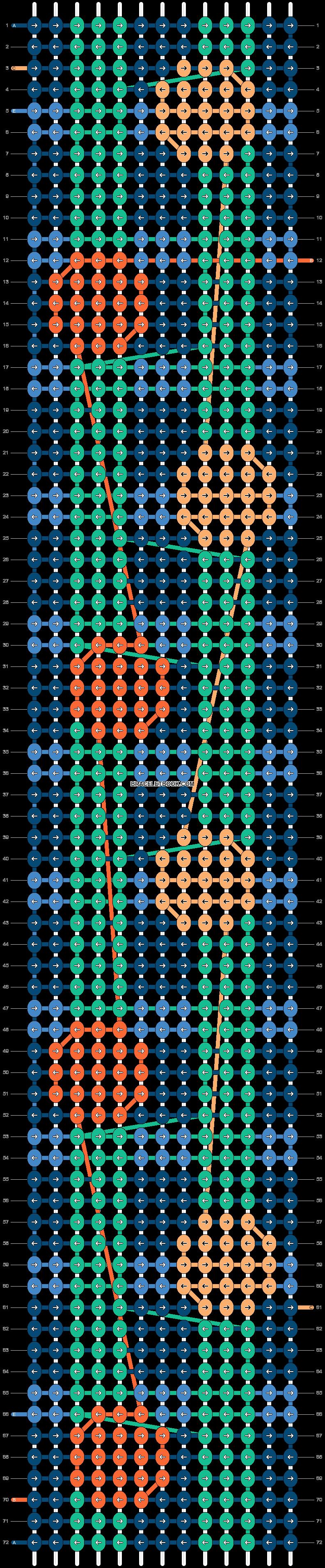 Alpha pattern #37786 pattern