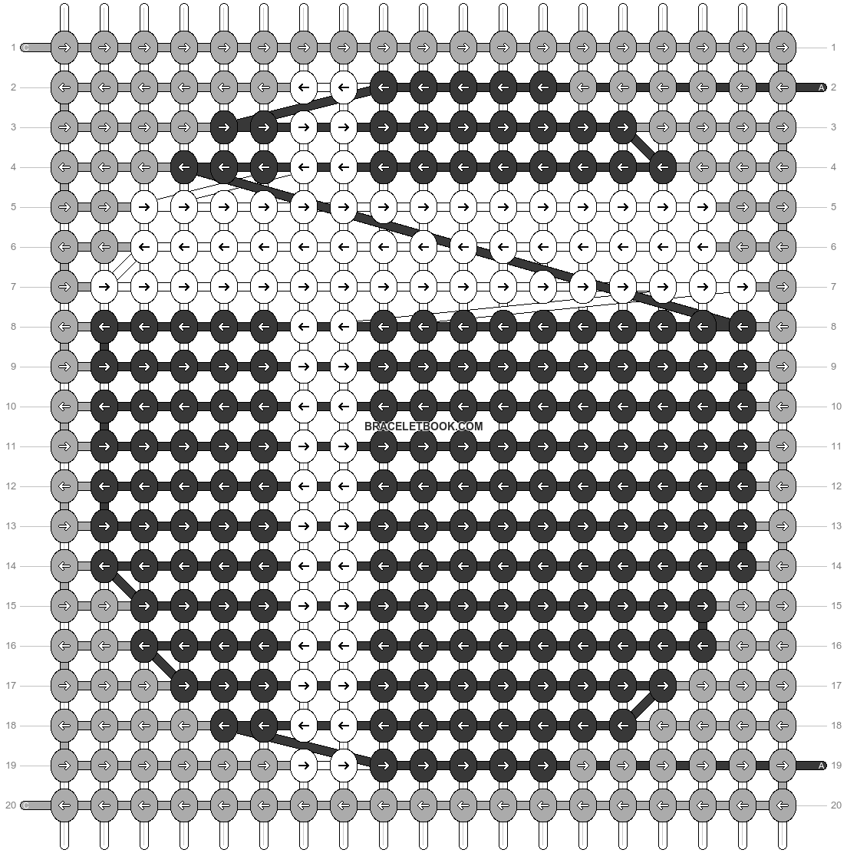 Alpha pattern #37804 pattern