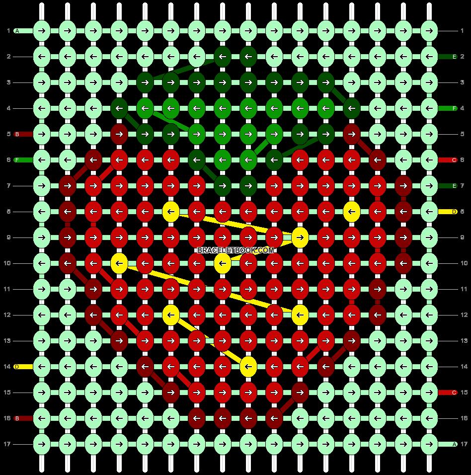 Alpha pattern #37810 pattern