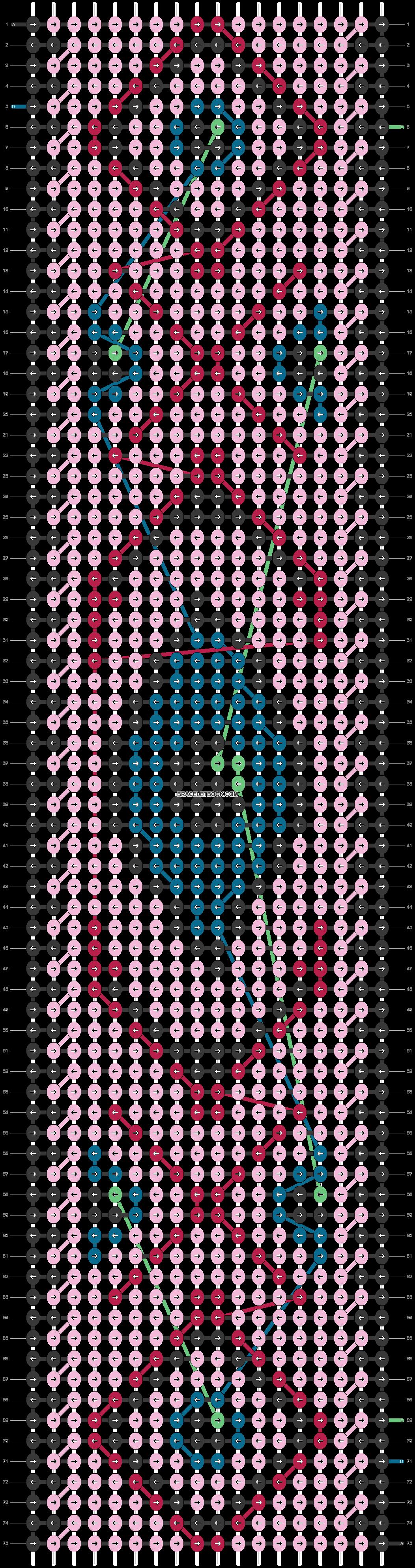 Alpha pattern #37813 pattern