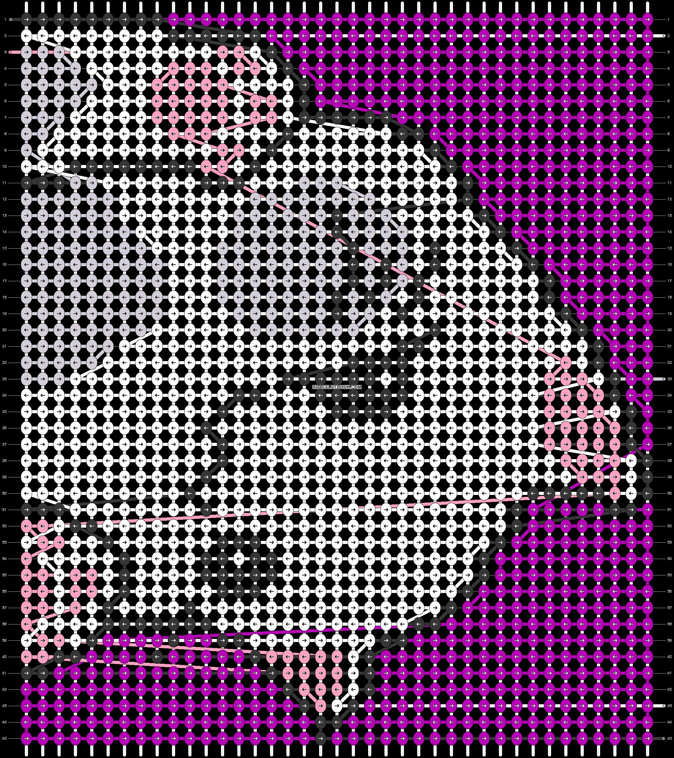Alpha pattern #37822 pattern