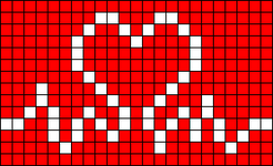 Alpha pattern #37832