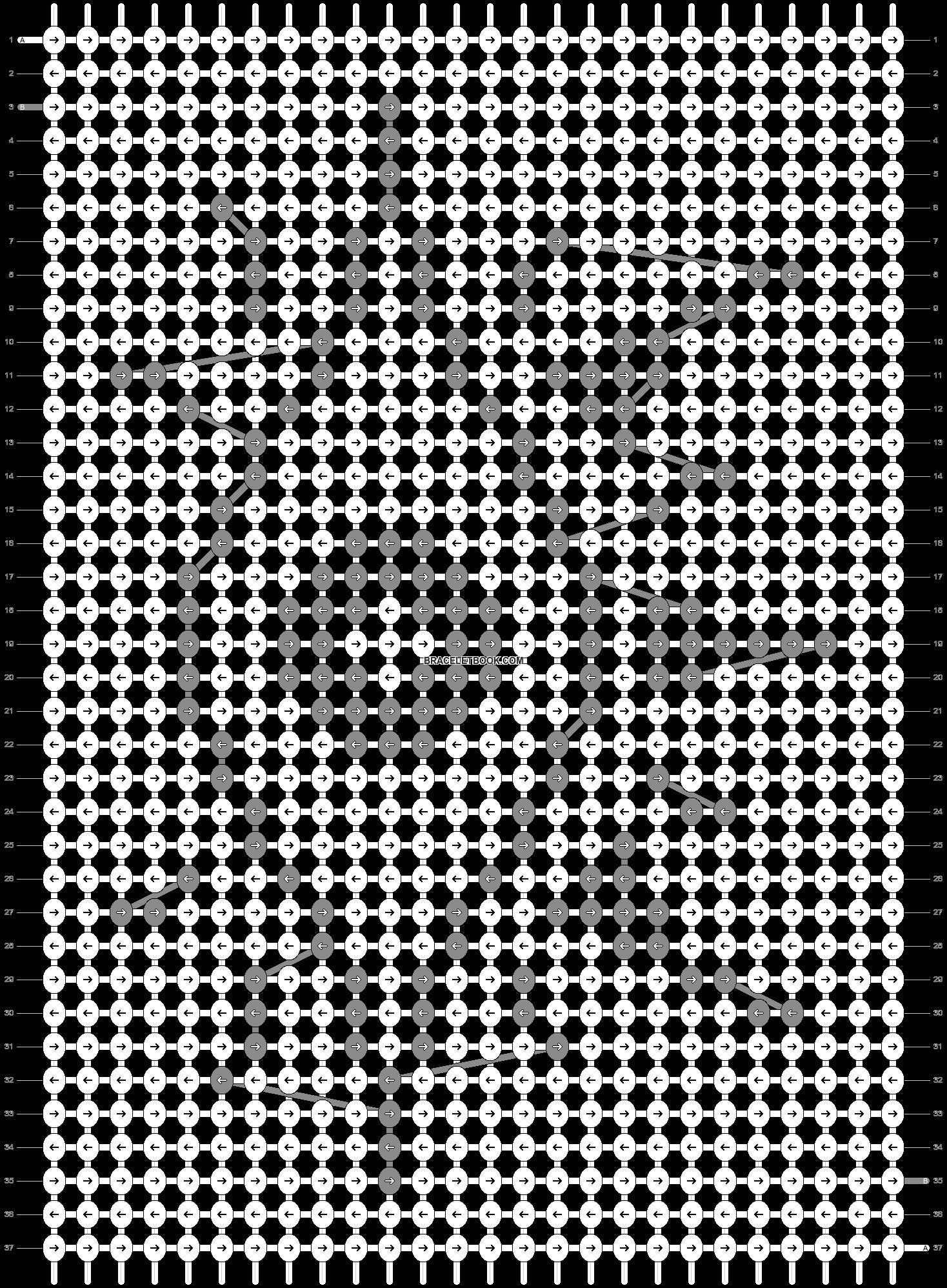 Alpha pattern #37834 pattern
