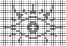 Alpha pattern #37834