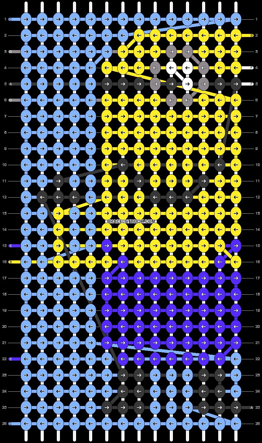 Alpha pattern #37846 pattern