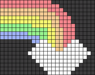 Alpha pattern #37851