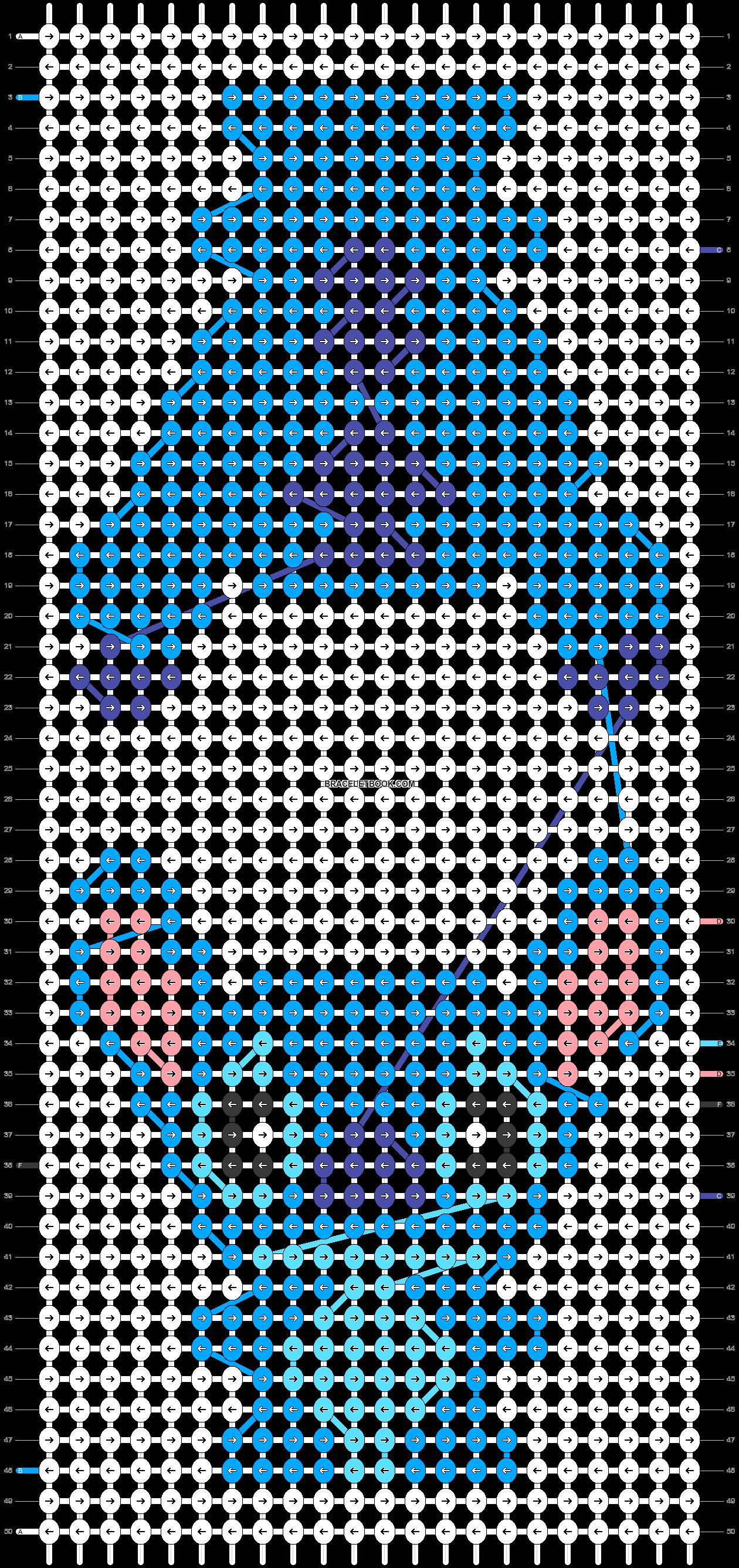 Alpha pattern #37852 pattern