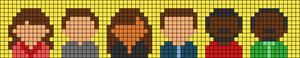 Alpha pattern #37855
