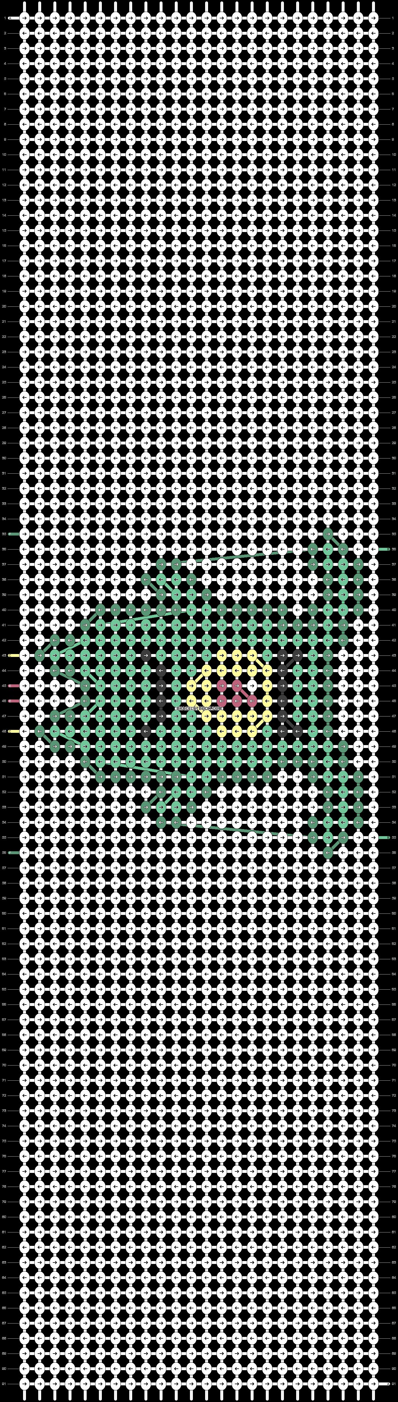 Alpha pattern #37887 pattern