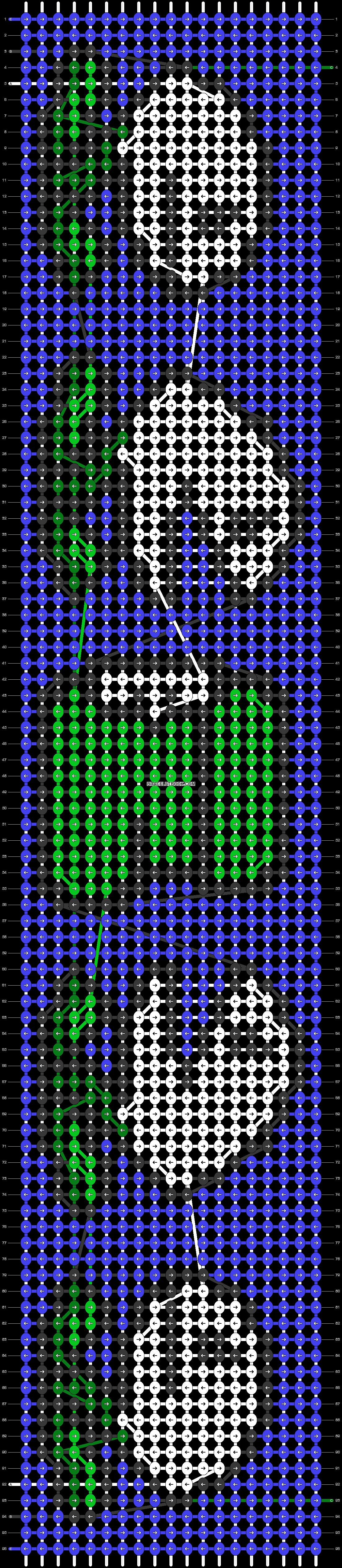 Alpha pattern #37903 pattern
