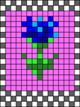 Alpha pattern #37910