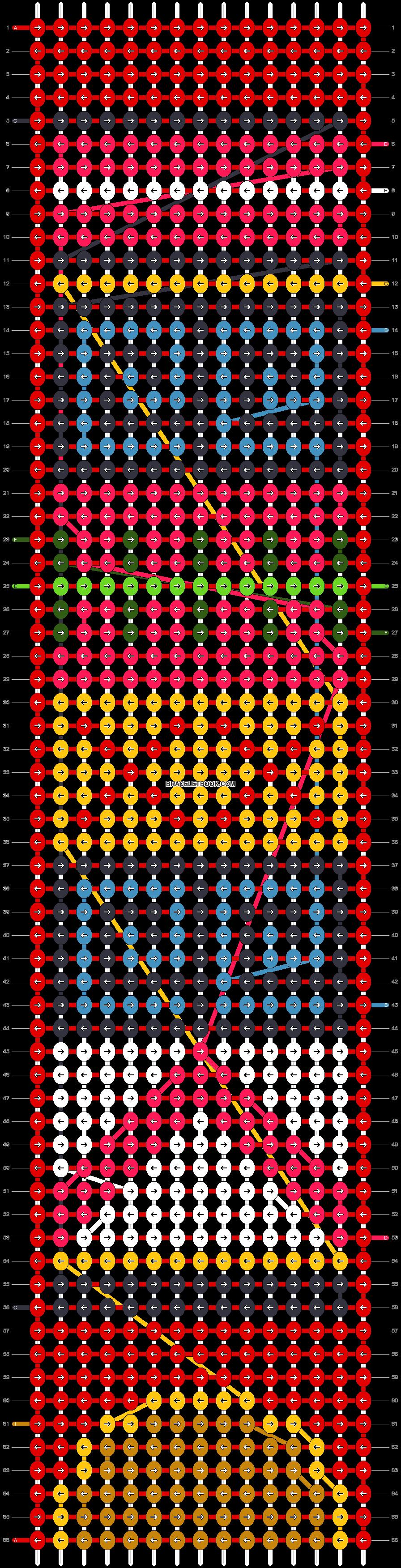 Alpha pattern #37930 pattern