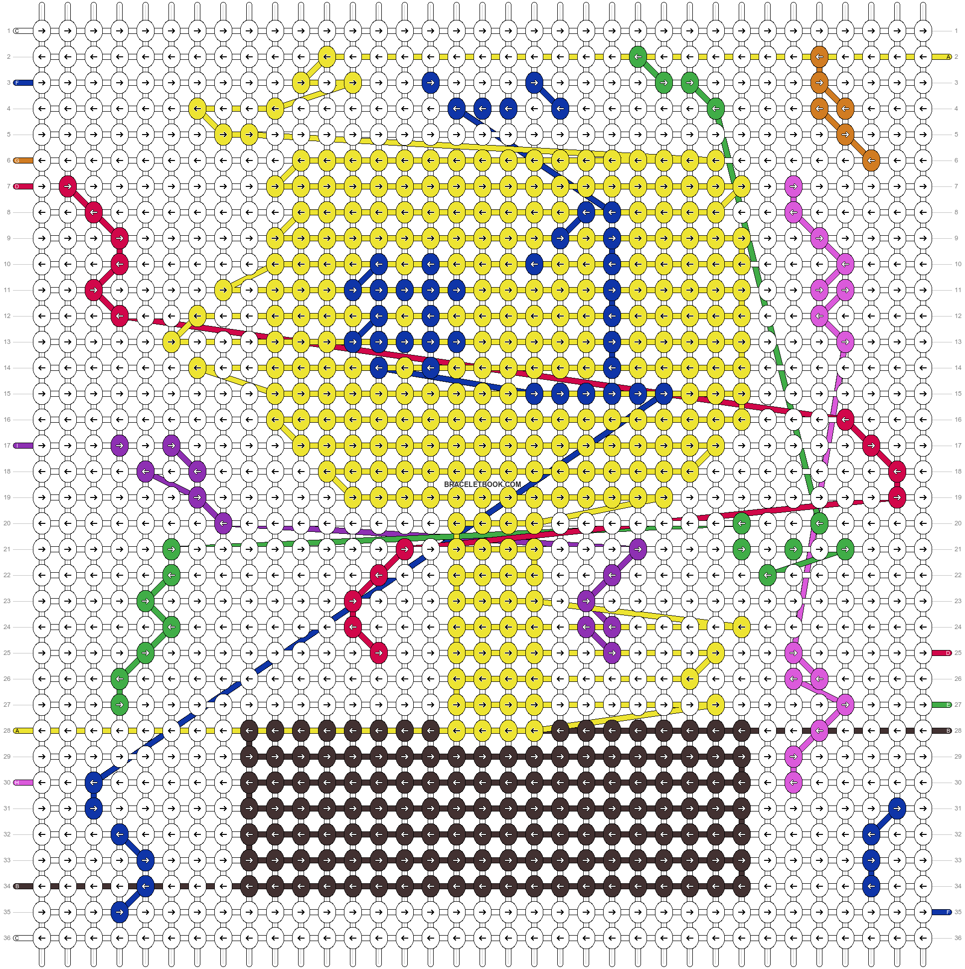 Alpha pattern #37954 pattern