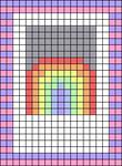 Alpha pattern #37965