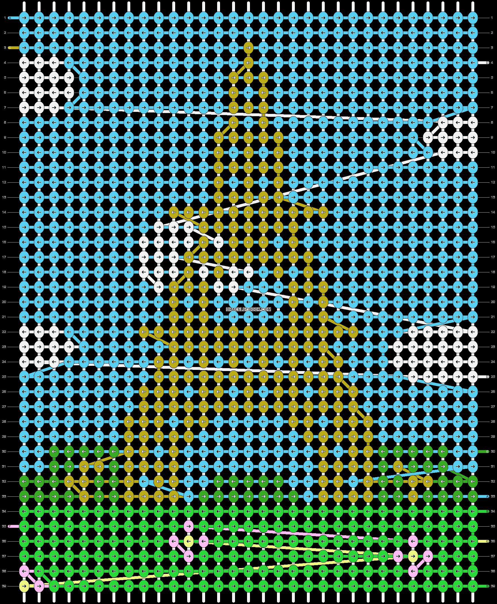 Alpha pattern #37976 pattern