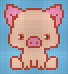 Alpha pattern #37980