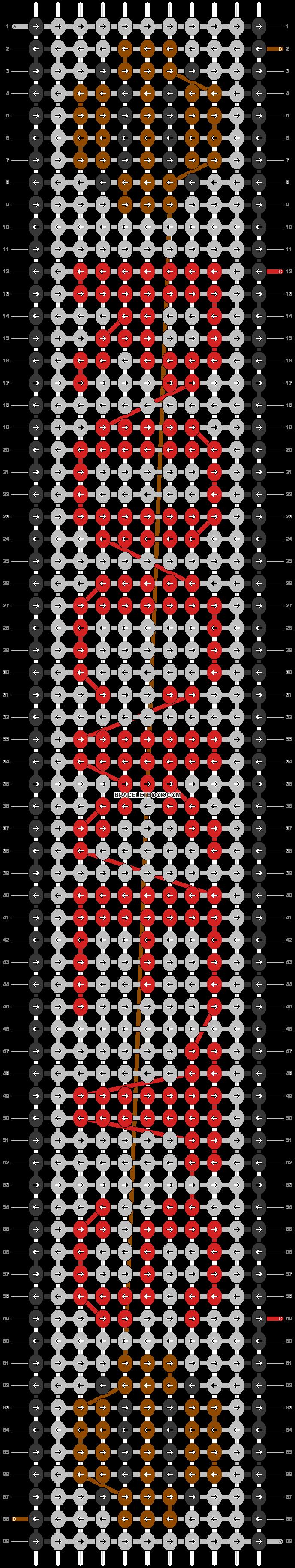 Alpha pattern #38013 pattern