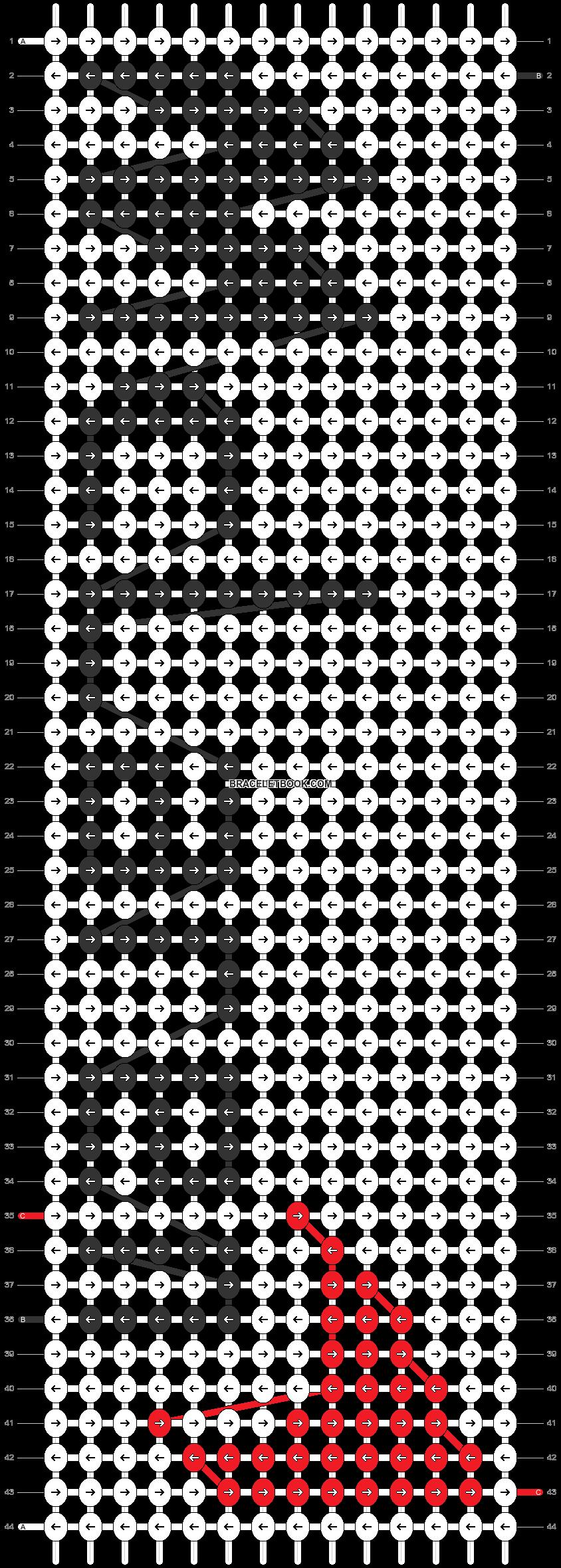 Alpha pattern #38033 pattern