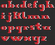 Alpha pattern #38048