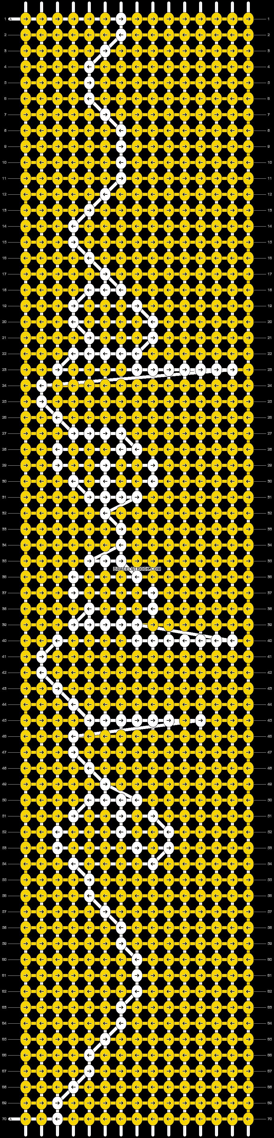 Alpha pattern #38062 pattern