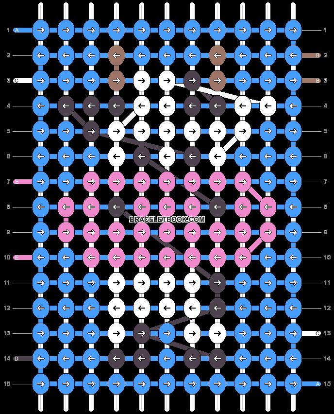 Alpha pattern #38064 pattern