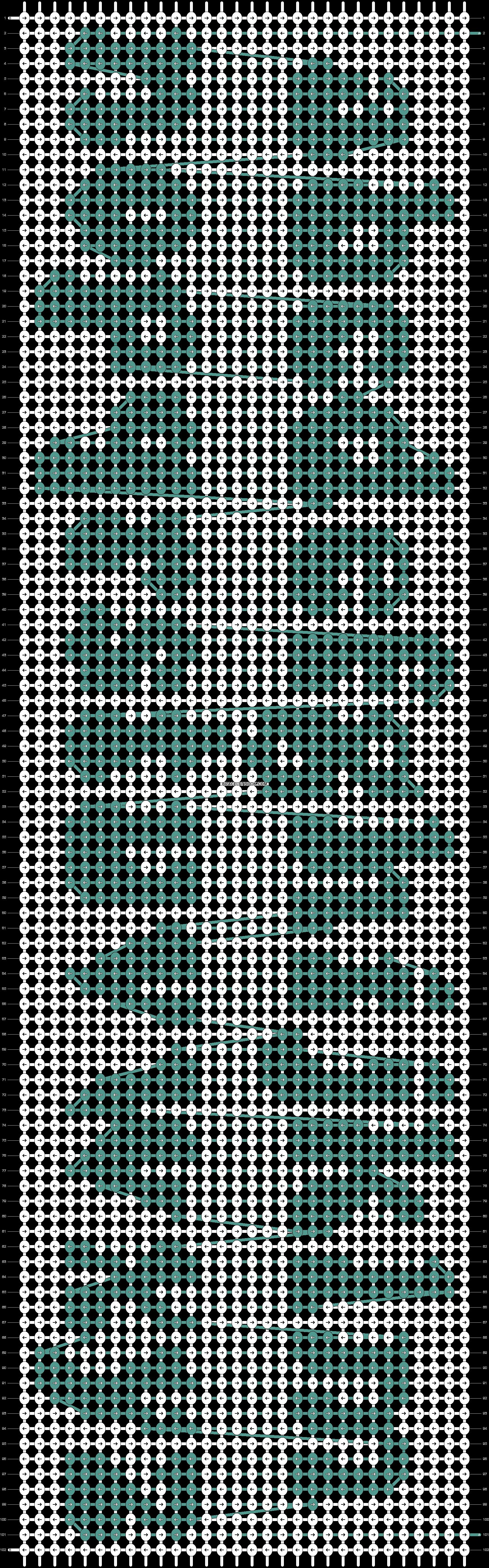 Alpha pattern #38069 pattern
