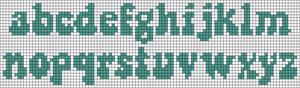 Alpha pattern #38069