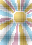 Alpha pattern #38094