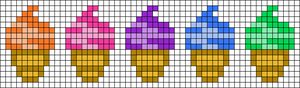 Alpha pattern #38101