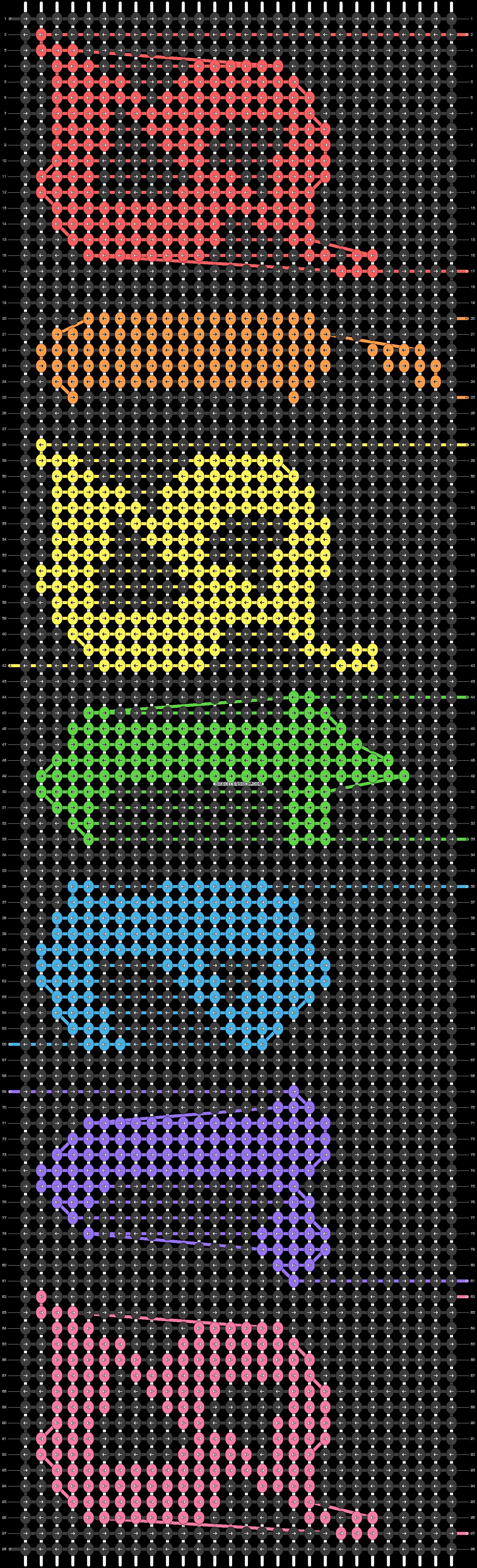 Alpha pattern #38107 pattern